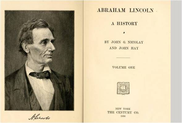 Image: Abraham Lincoln: A History