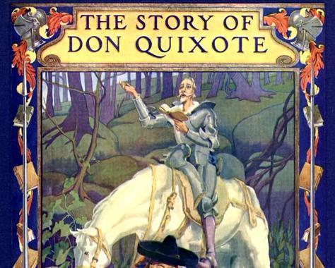 Image: Don Quixote by Cervantes