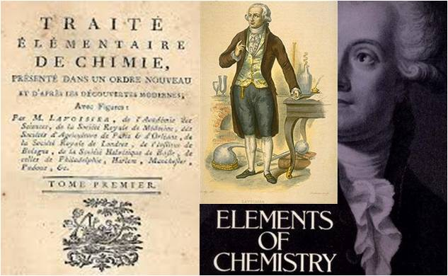 Image: Elements of Chemistry by Antoine Lavoisier