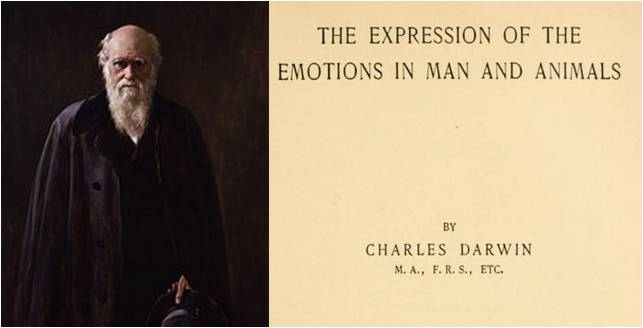 Image: The Expression of the Emotions in Man and Animals by Charles Darwin