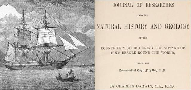 Image: The Voyage of the Beagle by Charles Darwin