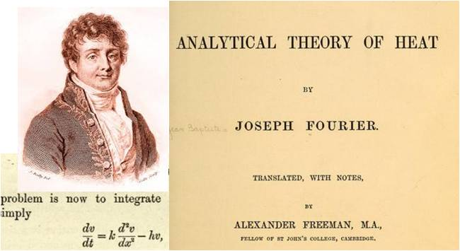 Image: The Analytical Theory of Heat by Joseph Fourier