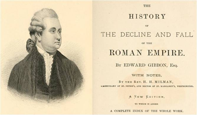 Image: The History of the Decline and Fall of the Roman Empire by Edward Gibbon