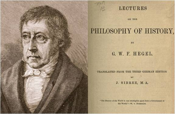 Image: Lectures on the Philosophy of History by Georg Wilhelm Friedrich Hegel