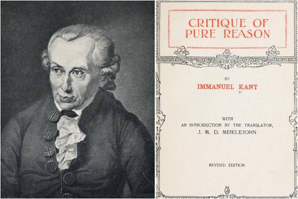 Image: Critique of Pure Reason by Immanuel Kant