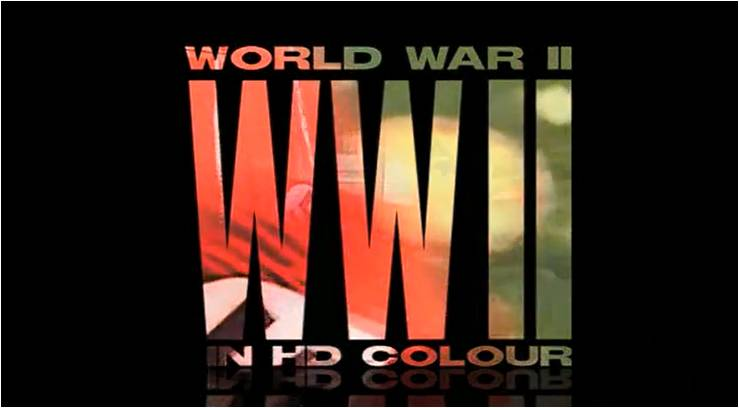 Image of World War II in HD Color