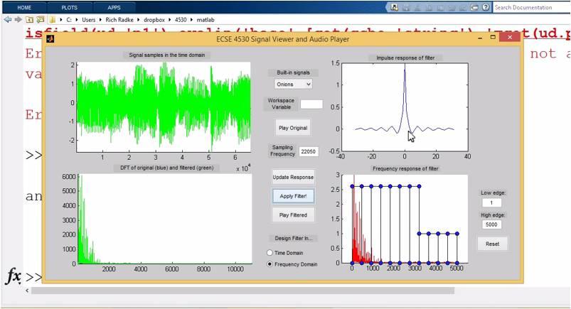 Image: ECSE 4530: Digital Signal Processing