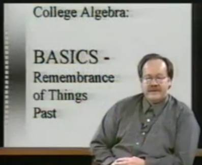 Image of Math 110: College Algebra (UMKC)