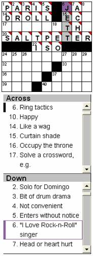 CrossWordsPuzzle